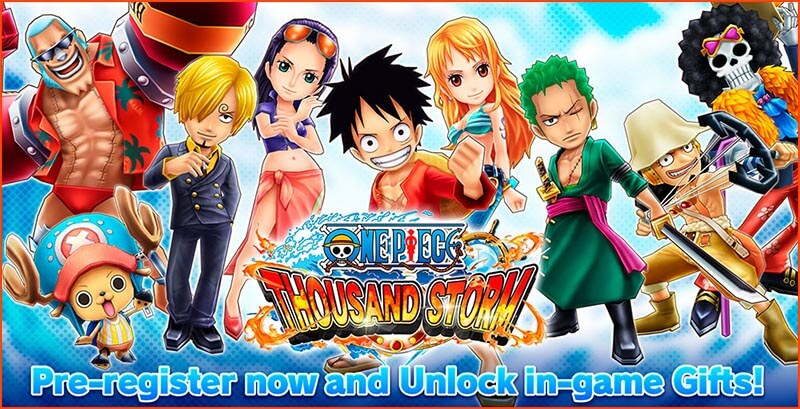 เกม ONE PIECE THOUSAND STORM